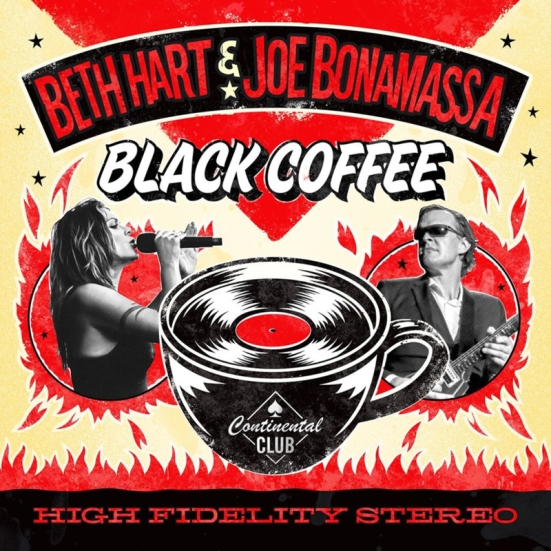 capa do álbum black coffee de beth hart e joe bonamassa