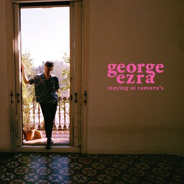 capa do álbum staying at tamara's de george ezra